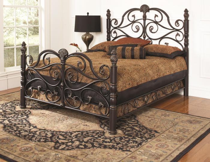 Long Furniture Rainbow City Al Belta Queen Metal Bed