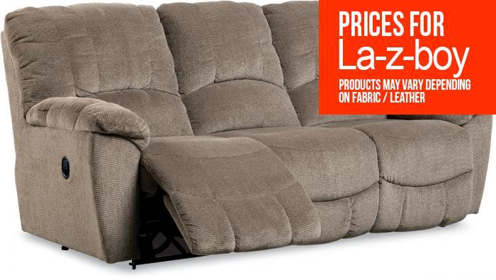 Long Furniture Rainbow City Al La Z Boy Hayes Reclining Sofa